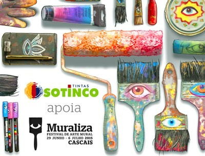 MURALIZA, FESTIVAL DA ARTE MURAL DE CASCAIS, CONTA COM O APOIO DA SOTINCO.