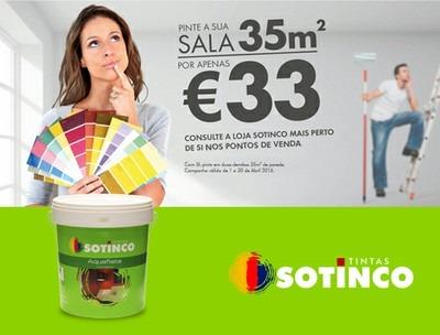 PINTE A SUA SALA POR APENAS 33€!