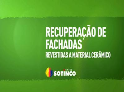 RECUPERAÇÃO DE FACHADAS REVESTIDAS A MATERIAL CERÂMICO