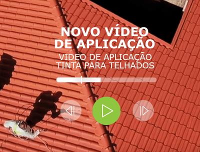 VIDEO DE APLICAÇÃO TINTA PARA TELHADOS