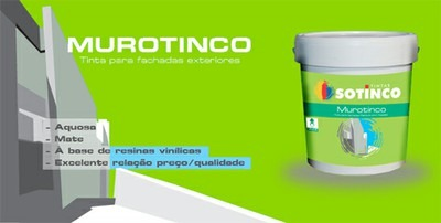 MUROTINCO – AGORA DISPONÍVEL EM EMBALAGENS DE 5L.