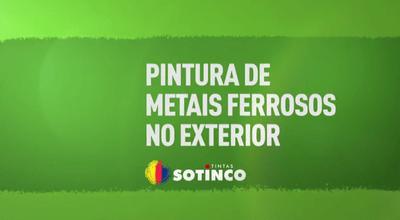 PINTURA DE METAIS FERROSOS E NÃO FERROSOS NO EXTERIOR