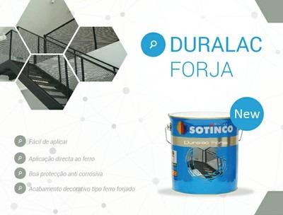 LANÇAMENTO DO NOVO ESMALTE, DURALAC FORJA.