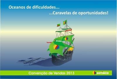 CONVENÇÃO DE VENDAS 2013